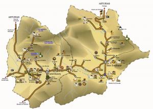 Babia mapa