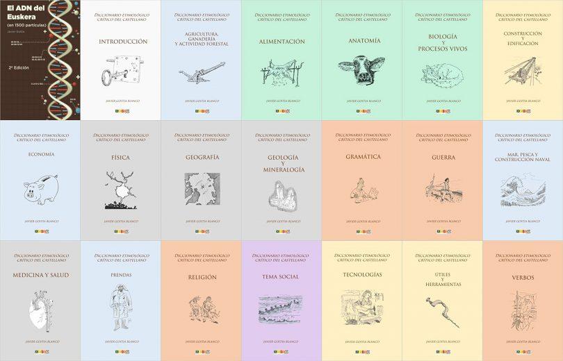 Todas las portadas de mis libros
